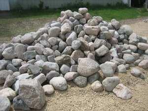 8-15+ Inch Rock