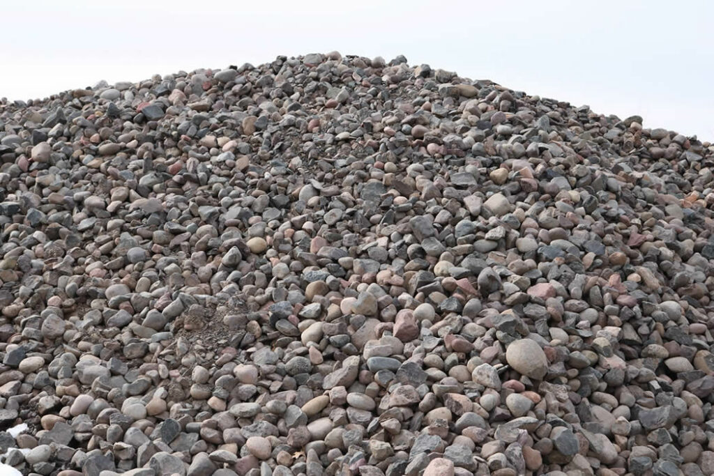 Hopkins Sand and Gravel 2-6 Inch Rock