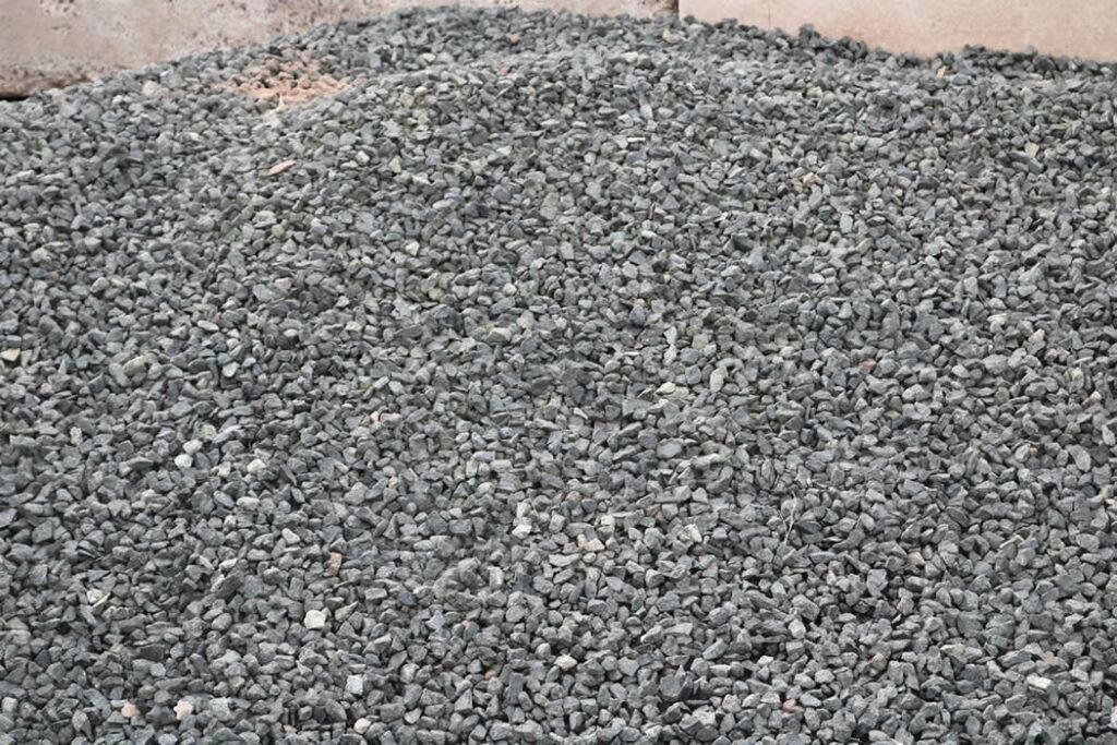 Hopkins Sand and Gravel Black Granite