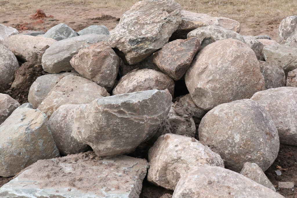Hopkins Sand and Gravel Boulders