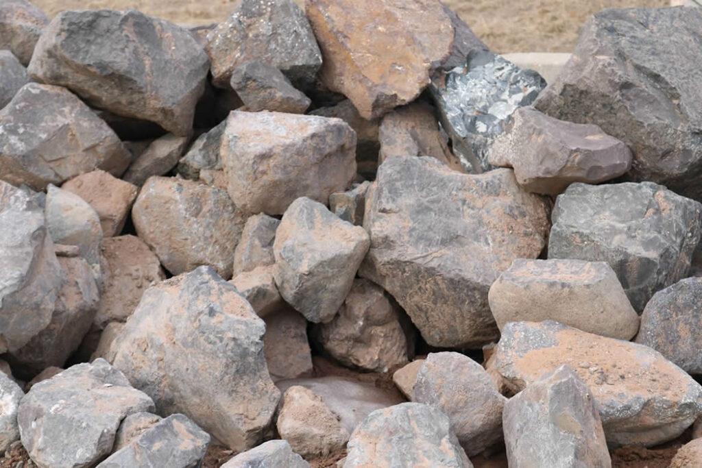 Hopkins Sand and Gravel Breaker Rock