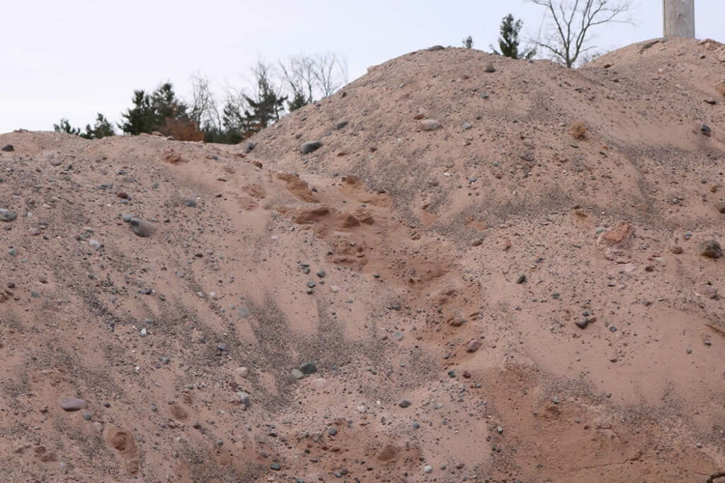 Hopkins Sand and Gravel Pit Run Fill Sand