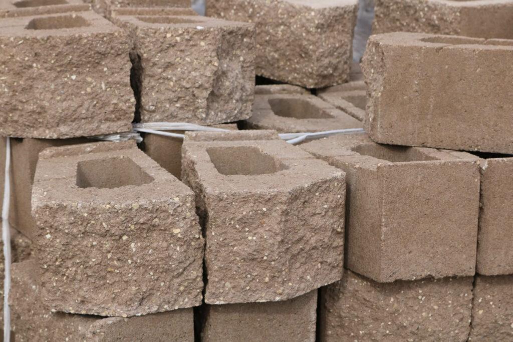 Hopkins Sand and Gravel Retaining Wall Block