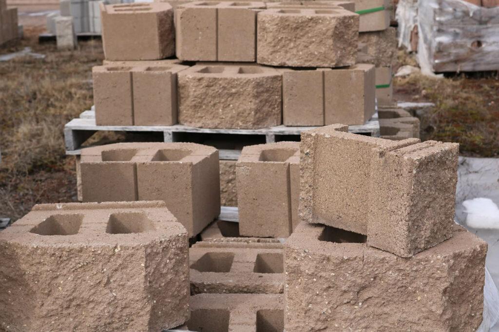 Hopkins Sand and Gravel Retaining Wall Block 3