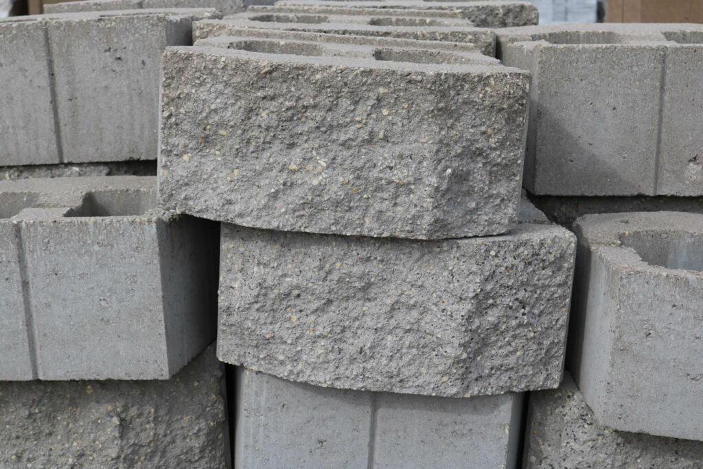 Hopkins Sand and Gravel Retaining Wall Block 4